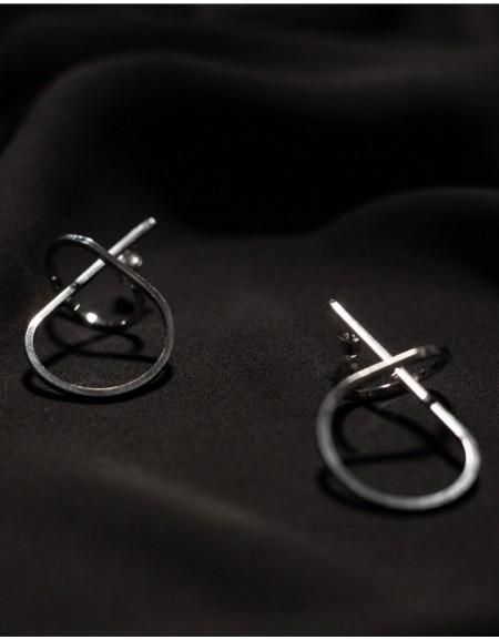 BOOD Silver Earrings