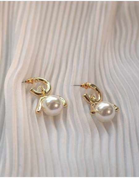 COCO Pearl Drop Earrings