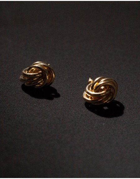 KNOT Gold Earrings