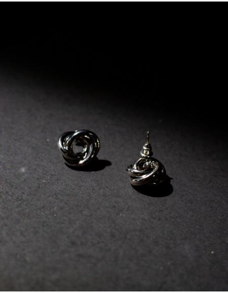 TRIO Silver Earrings