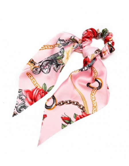 Rose Ponytail Holder | Cerise Pink