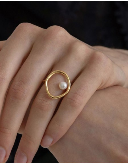 ADELAIDE Pearl Ring