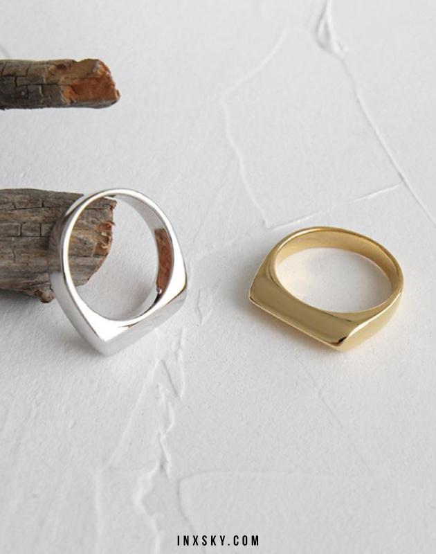 MIA Silver Ring